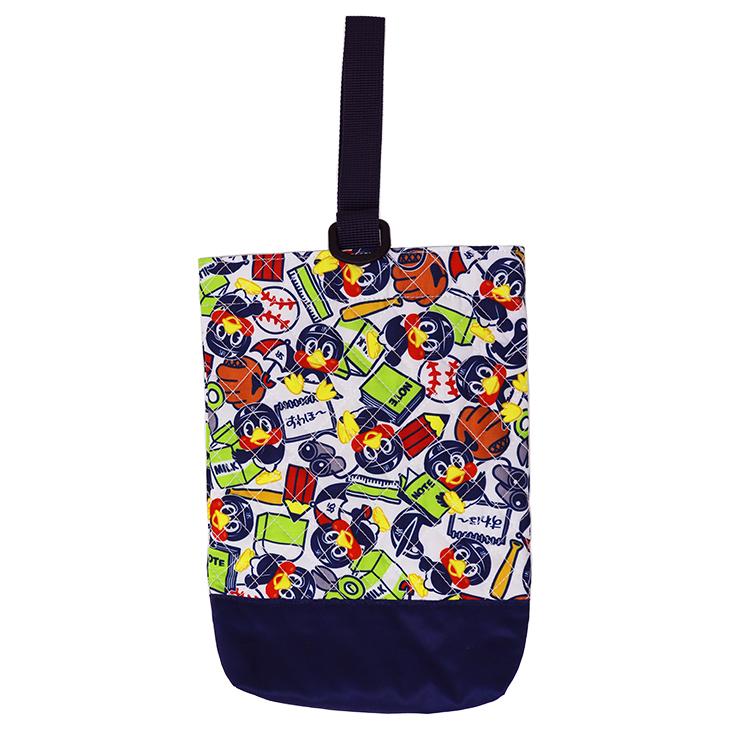 つば九郎キルティングシューズ袋