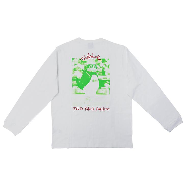 つば九郎バックプリントロングTシャツ(バズーカ)