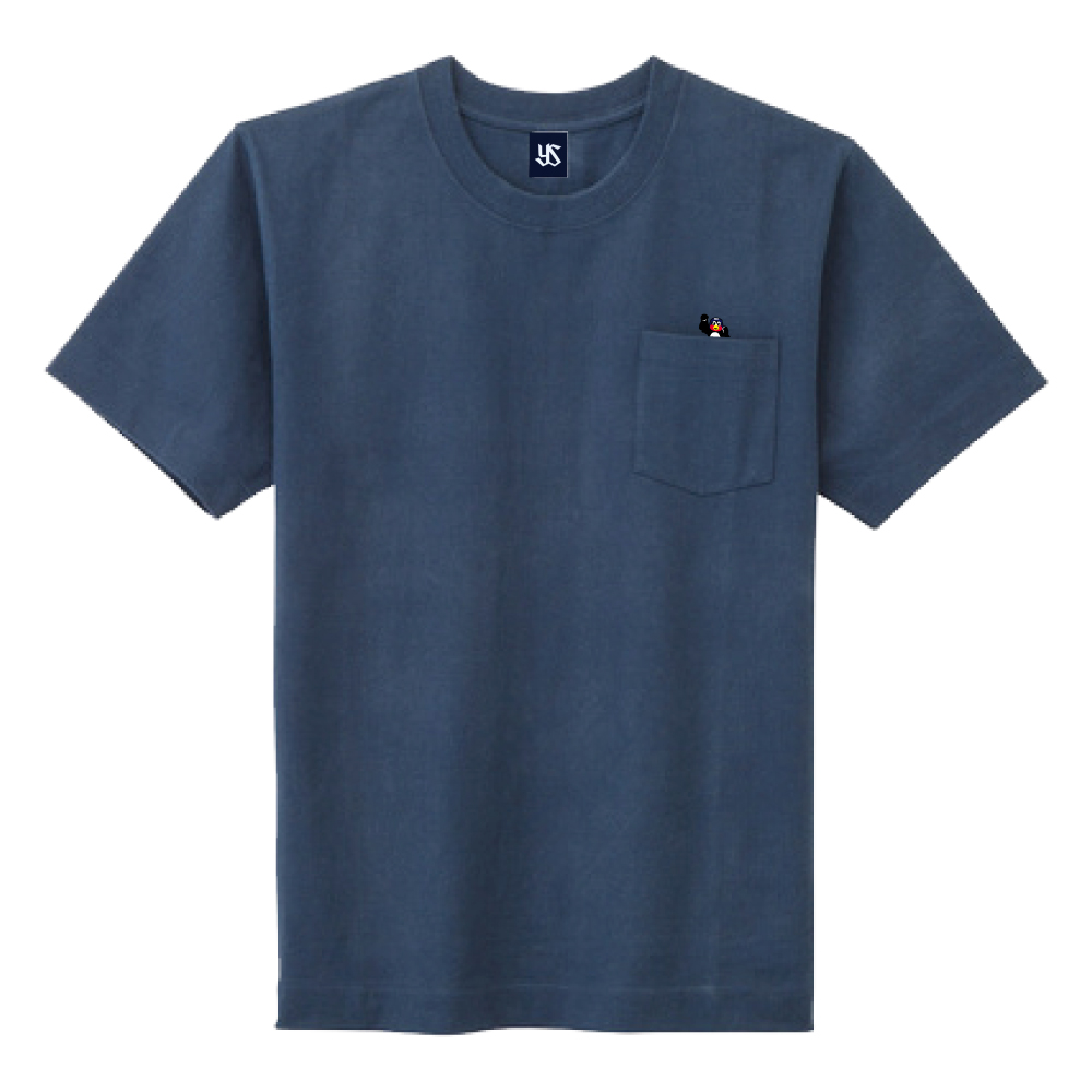 2021ポケット刺繍Tシャツ(飛び出すつば九郎)