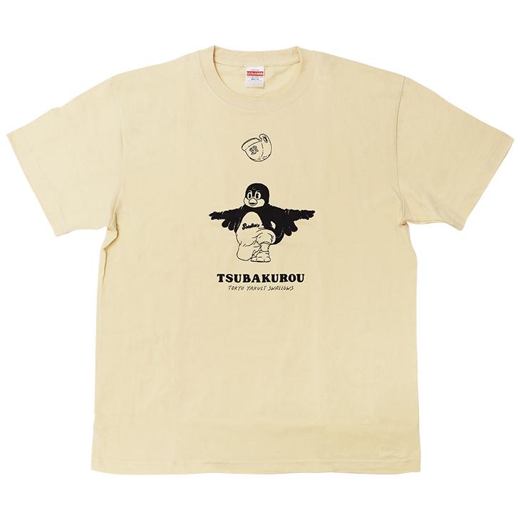 つば九郎Tシャツ ナチュラル