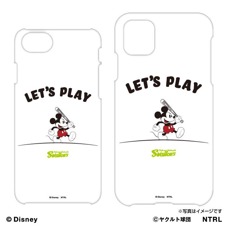 スワローズ×ミッキーマウス(LET'S PLAY)iPhoneケース