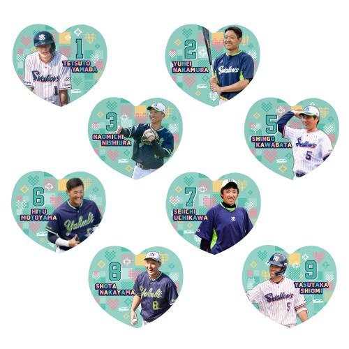 【イケメン総選挙投票権付全選手対応】ハート型タオル(小)