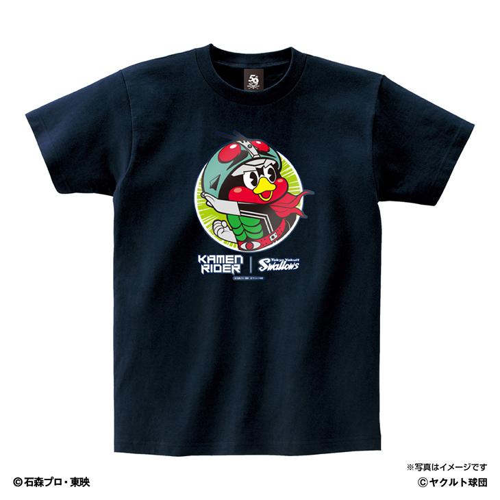 仮面ライダーコラボキッズTシャツ(変身Ver)