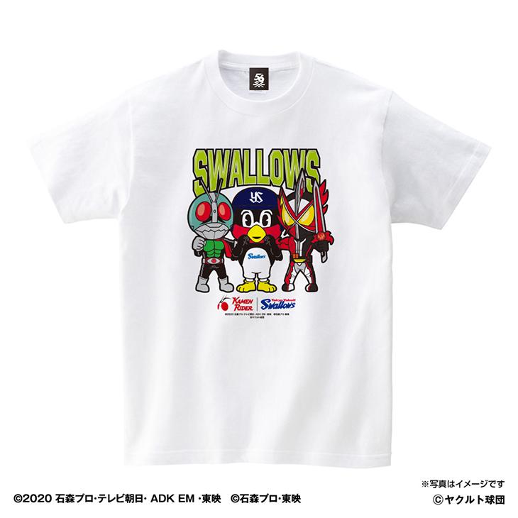仮面ライダーコラボTシャツ(集合Ver)