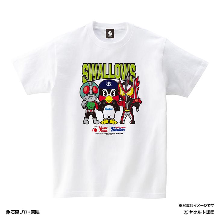 仮面ライダーコラボキッズTシャツ(集合Ver)
