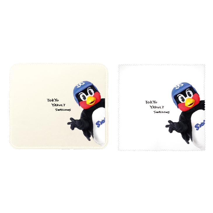 【つば九郎TVショッピング】つば九郎マウスパッド&メガネクリーナーセット(タイプH)