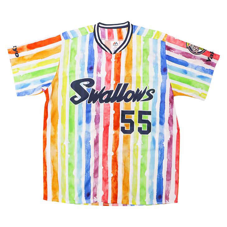 2021アップグレードレディースユニホーム(Rainbow Stripe)