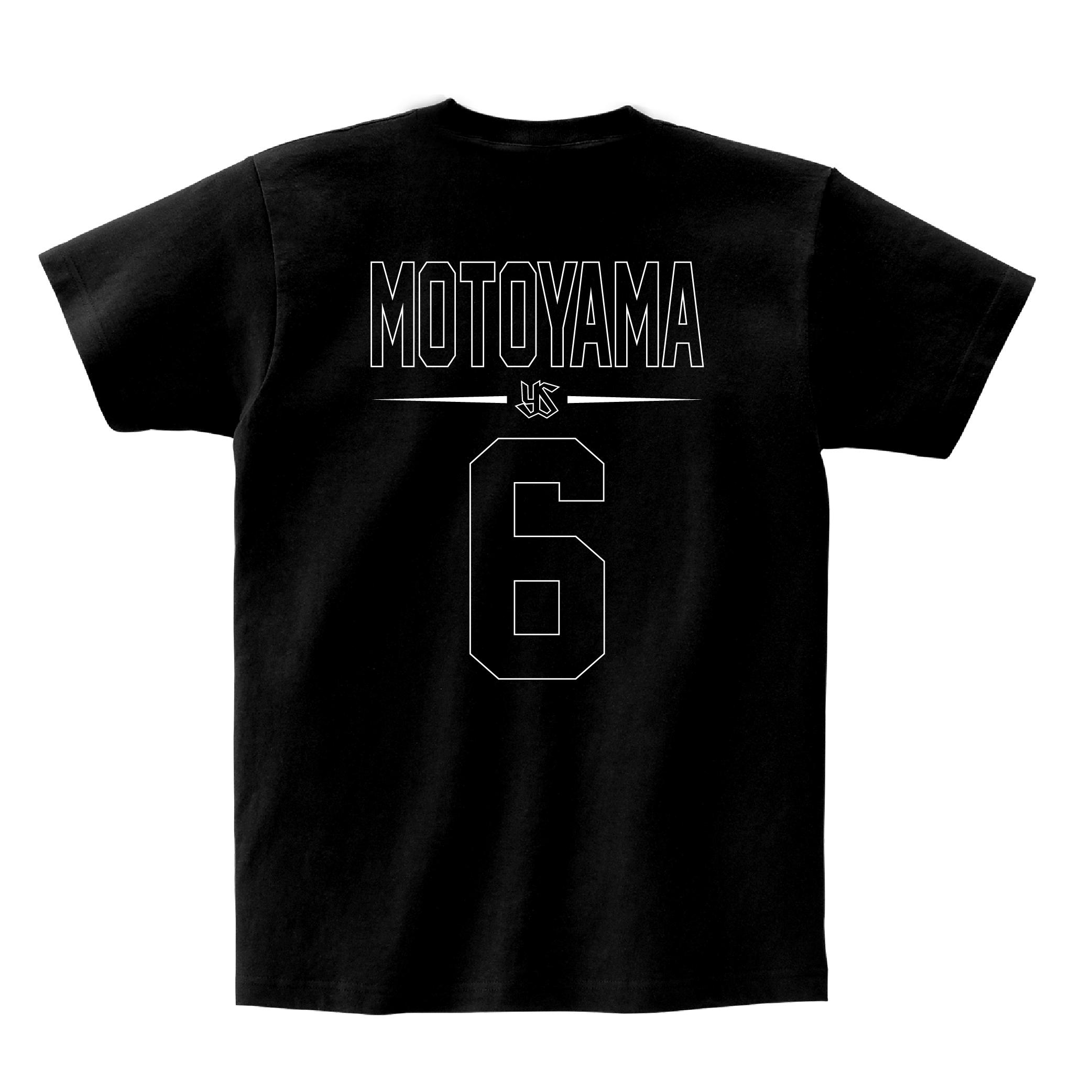 ネーム&ナンバーTシャツ(親子 de Tシャツ)#6 元山