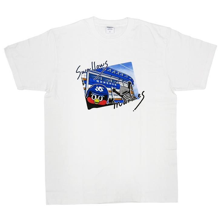 2021つば九郎×謎の魚 Tシャツ
