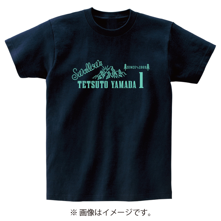 山コレクションTシャツ(ネイビー)