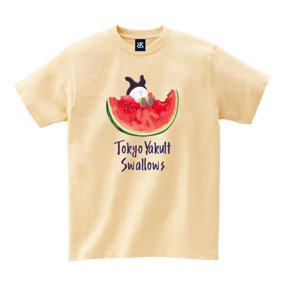 すいかとつば九郎Tシャツ