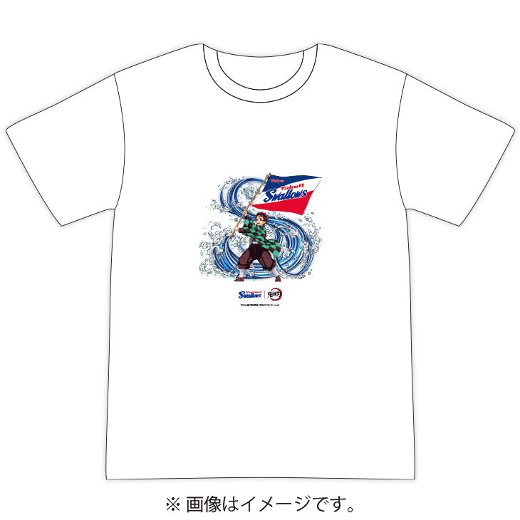 スワローズ×鬼滅の刃 Tシャツ
