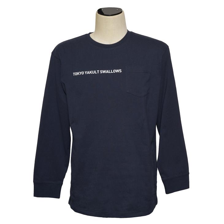 サークルロゴロングTシャツ(ネイビー)