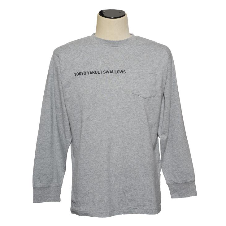サークルロゴロングTシャツ(グレー)