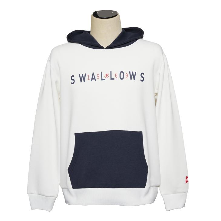 1969Swallowsプルオーバーパーカー