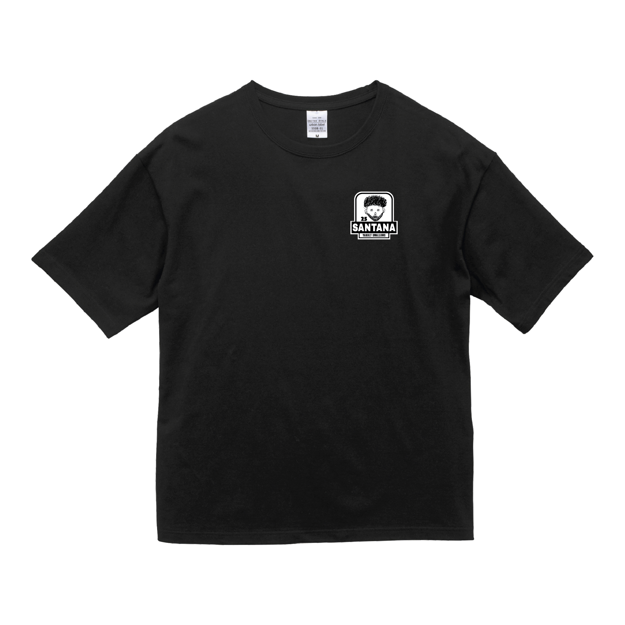 サンタナ選手自画像刺繍Tシャツ