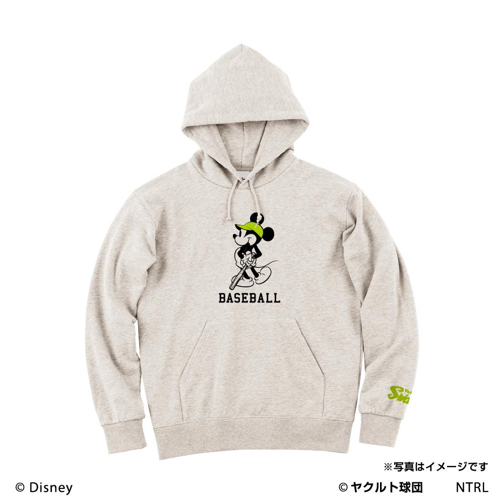 スワローズ×ミッキーマウス(BASEBALL)パーカー