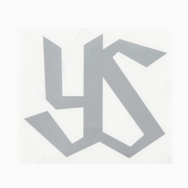 カーステッカーシルバー(YS)
