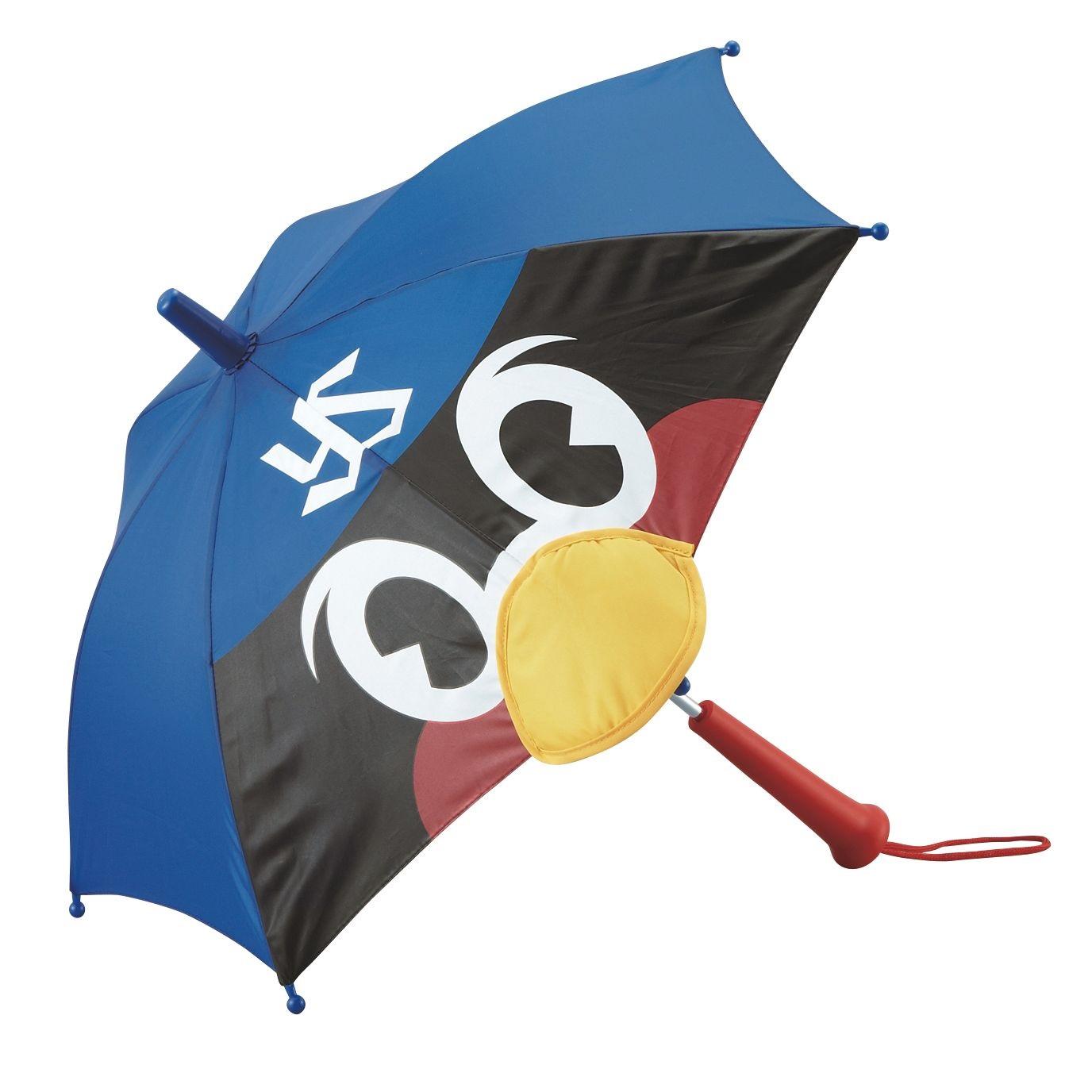 つば九郎顔型応援ミニ傘(サイン入り)