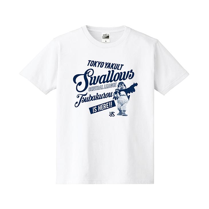 つば九郎フォトKidsTシャツ(ホワイト)