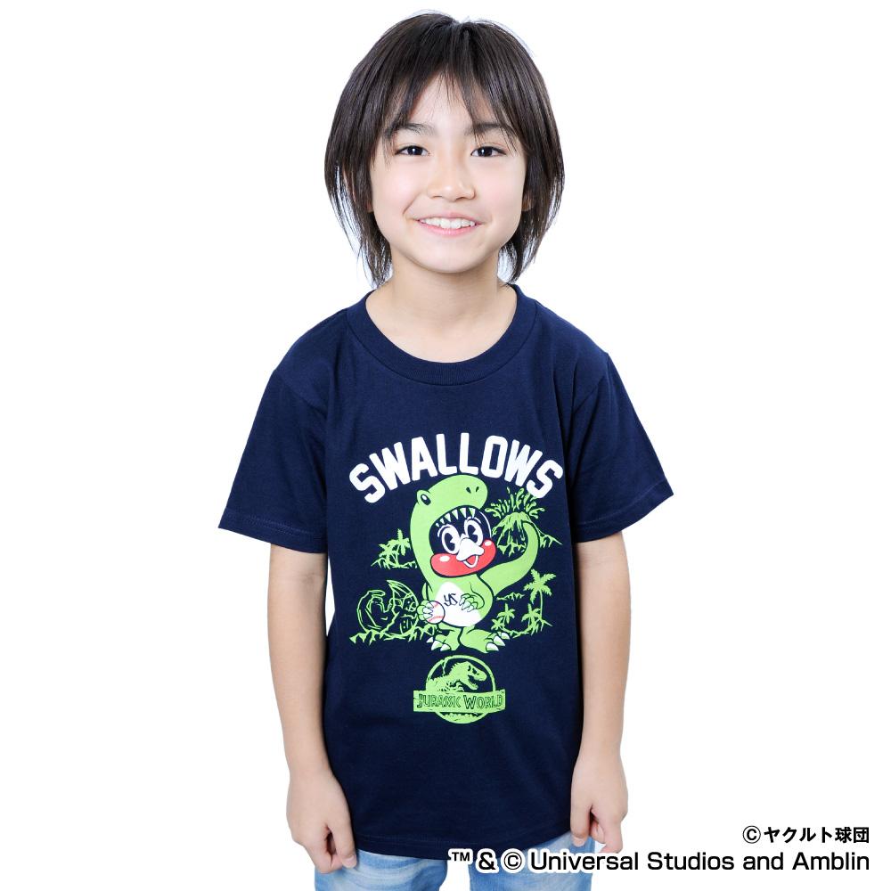 JURASSIC WORLD×スワローズ  Tシャツ(キッズ)