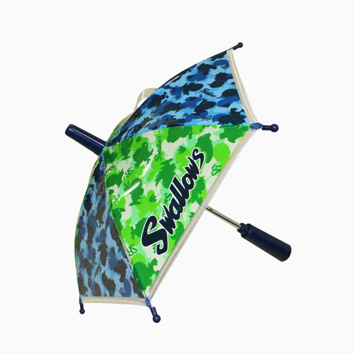 応援ミニチュア傘(つば九郎迷彩)