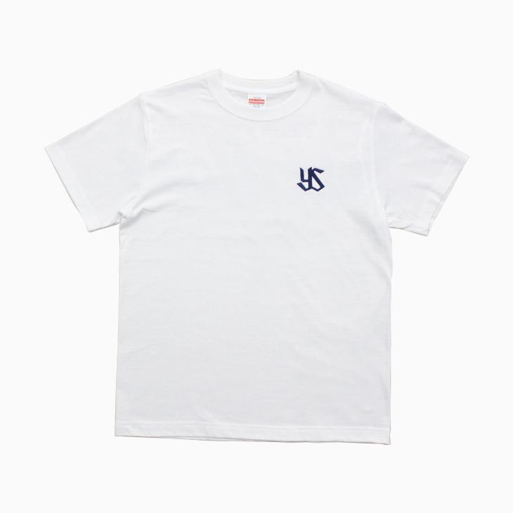 ワイドロゴプリントTシャツ(ホワイト)