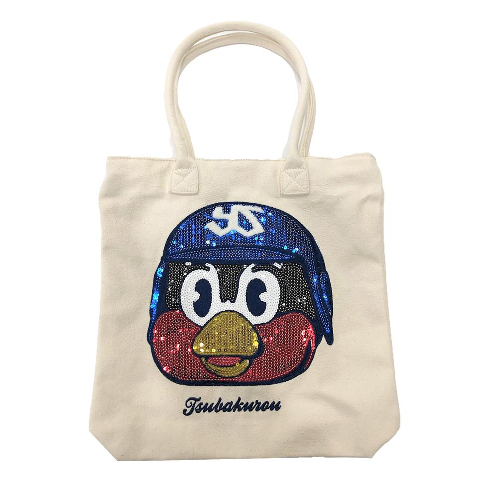 つば九郎スパンコールバッグ