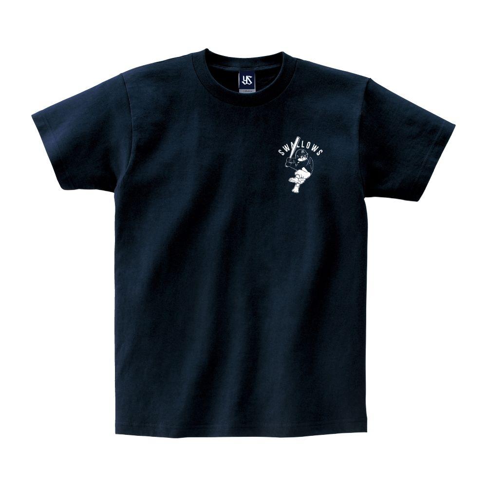 ぶんぶんバッティングフォームTシャツ