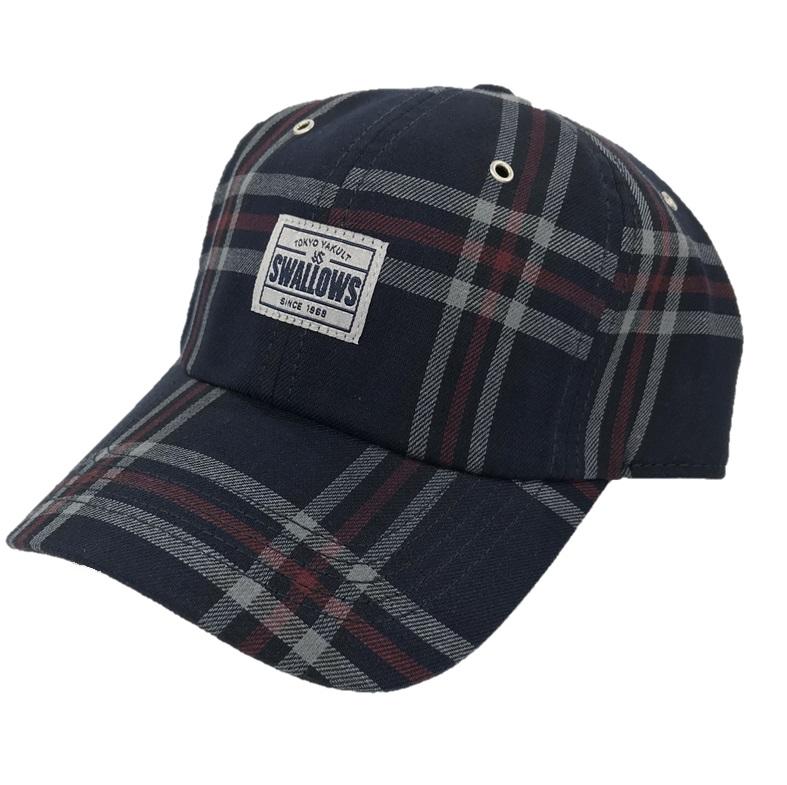 チェック柄CAP
