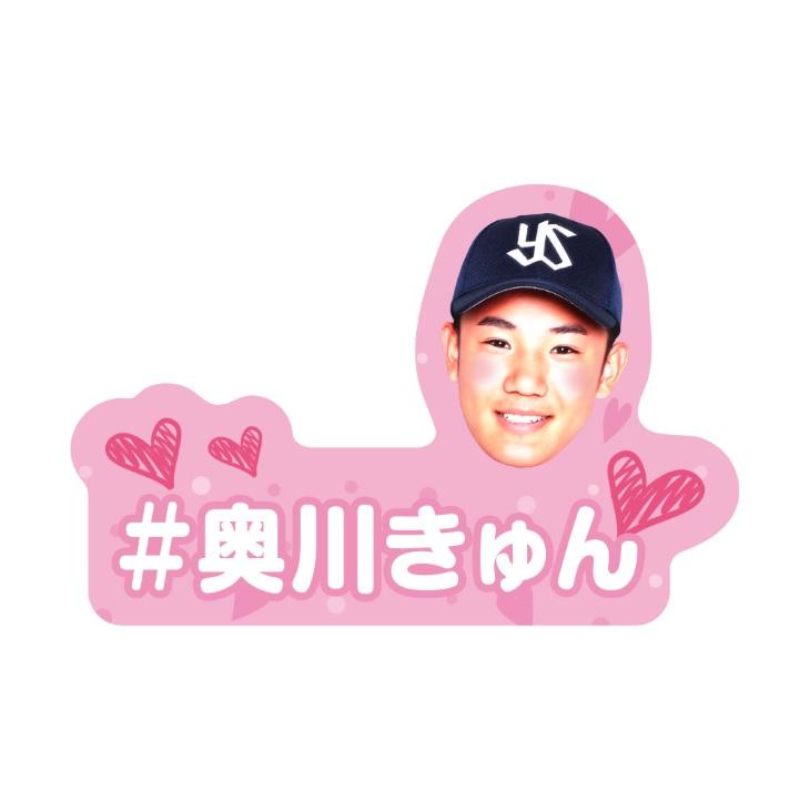 ダイカットステッカー(奥川きゅん)