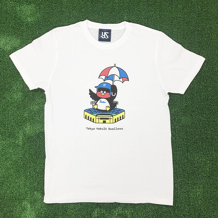つば九郎×Seiji MatsumotoコラボTシャツ(ホワイト)