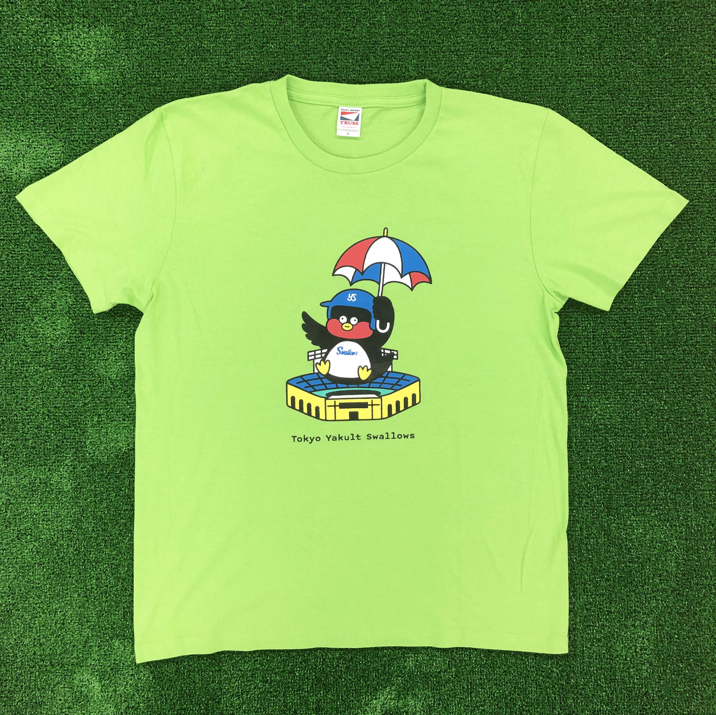 つば九郎×Seiji MatsumotoコラボTシャツ(グリーン)
