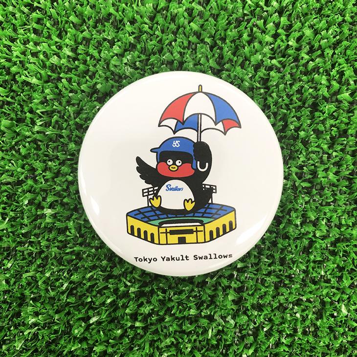 つば九郎×Seiji Matsumotoコラボ缶バッジ