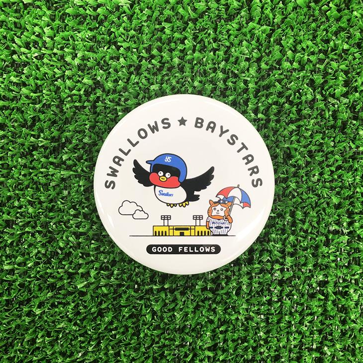 SWALLOWS×DB.スターマン×Seiji Matsumotoコラボ缶バッジ