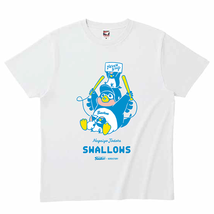 SWALLOWS×BIRDSTORY(全力応援)Tシャツ