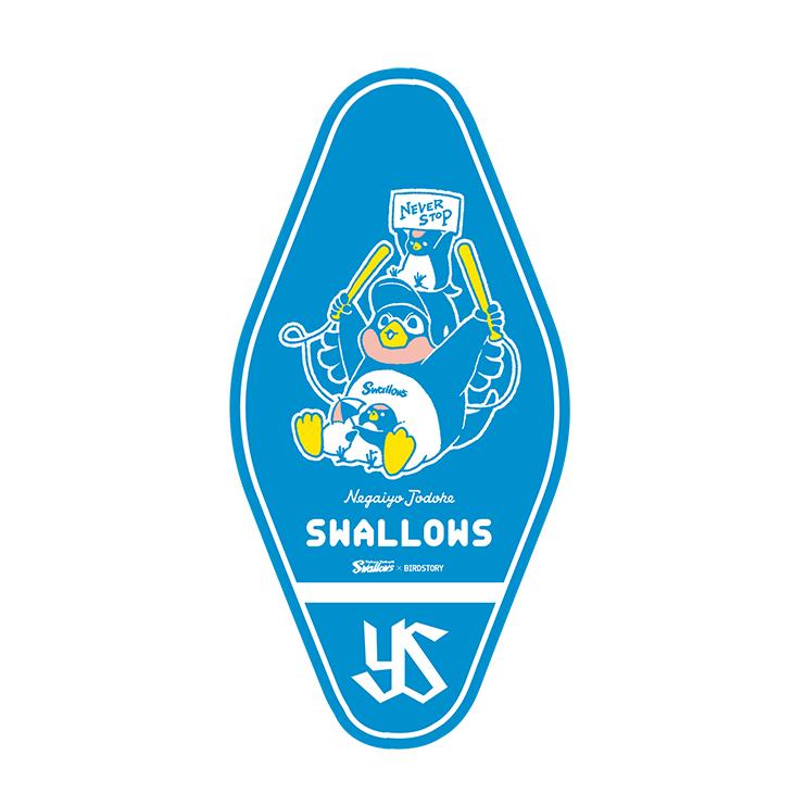 SWALLOWS×BIRDSTORY(全力応援)ステッカー
